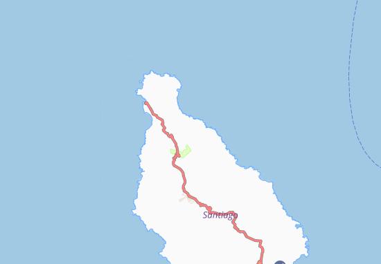 Carte-Plan Ponta da Aguada