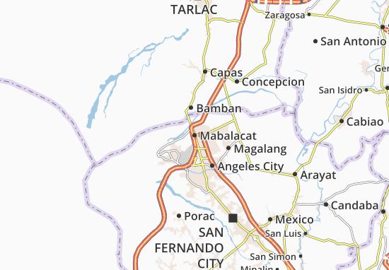Mappe-Piantine Mabalacat