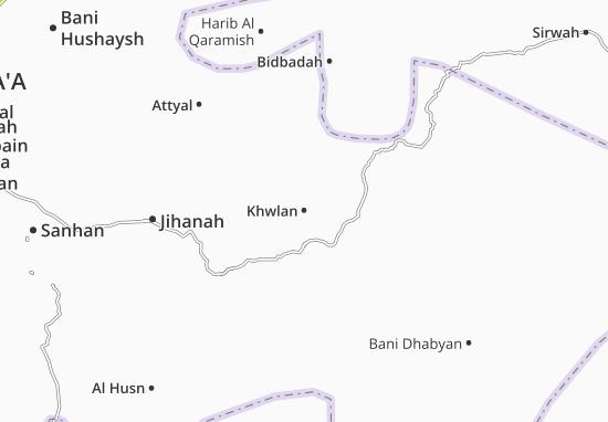 Mapas-Planos Khwlan