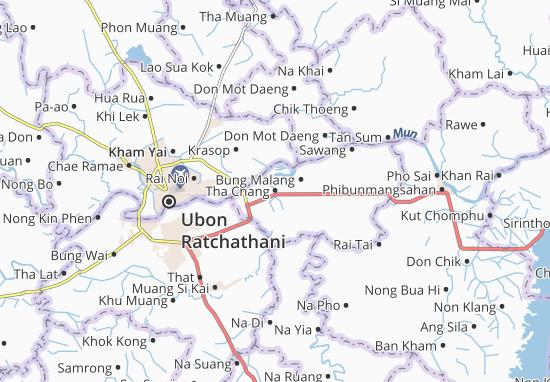 Mappe-Piantine Tha Chang