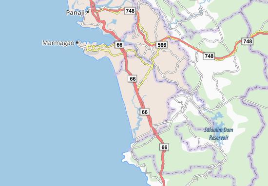 Mappe-Piantine Madgaon
