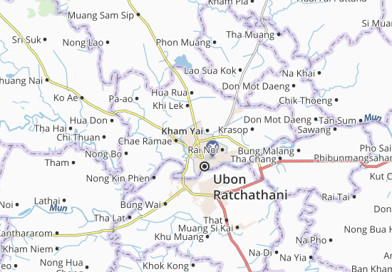 Mapas-Planos Kham Yai