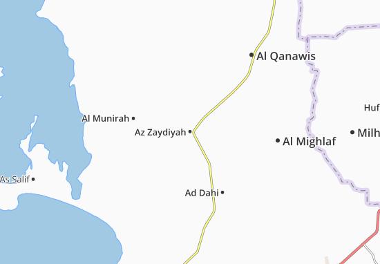 Az Zaydiyah Map