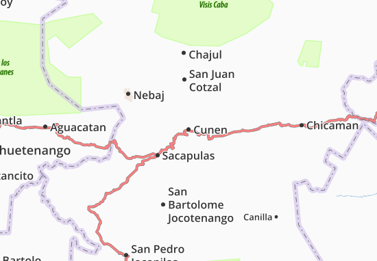 Mapa Plano Cunen