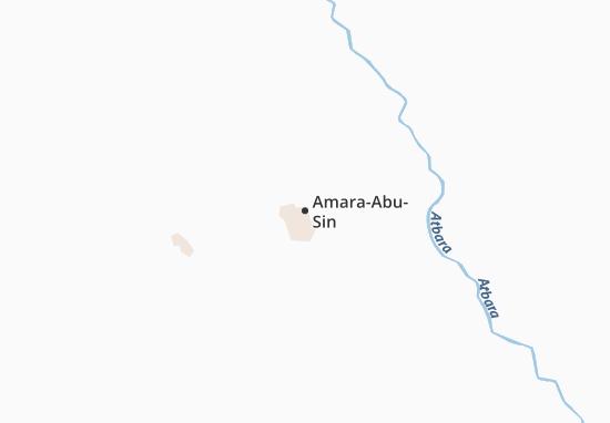 Carte-Plan Amara-Abu-Sin