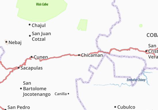 Mapas-Planos Chicaman