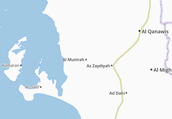 Carte-Plan Al Munirah