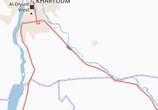 Mapa Plano Bakeir-El-Kuddami