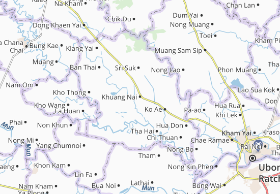 Kaart Plattegrond Khuang Nai