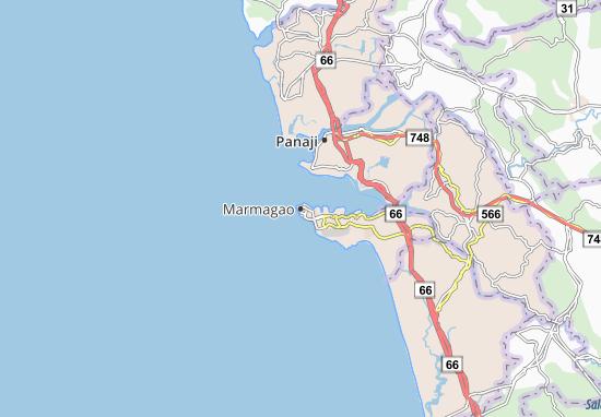 Marmagao Map