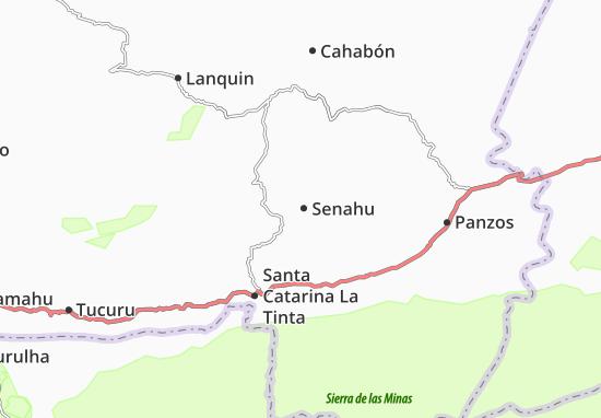 Senahu Map
