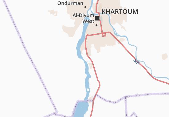 Carte-Plan Hajj Muhammad Ibrahim