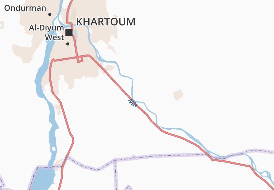 Mapa Plano Umm-Kahaf