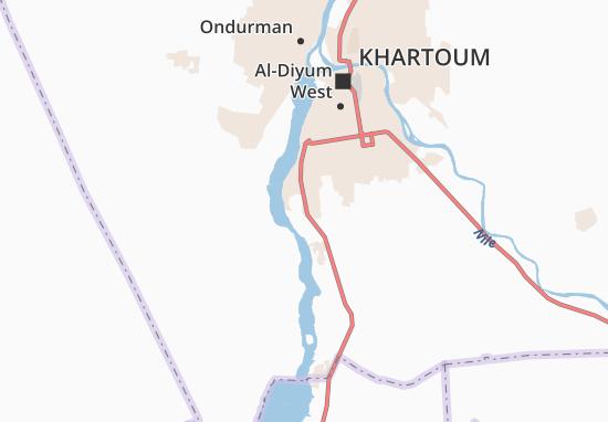 Carte-Plan Muhammad-Et-Tireifi