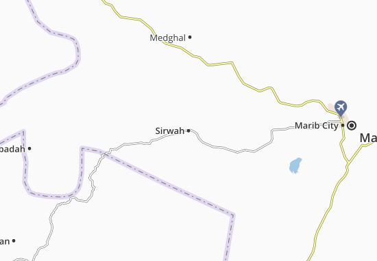 Sirwah Map