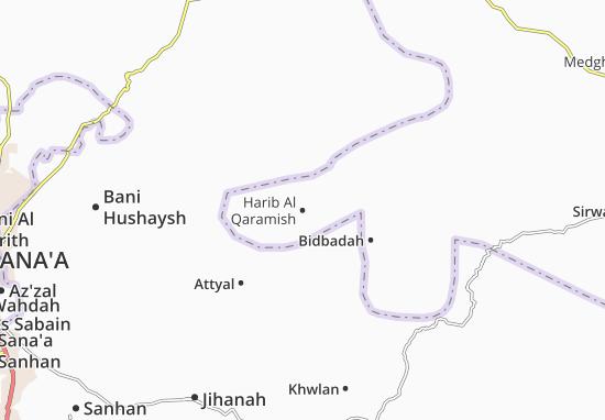 Mapas-Planos Harib Al Qaramish