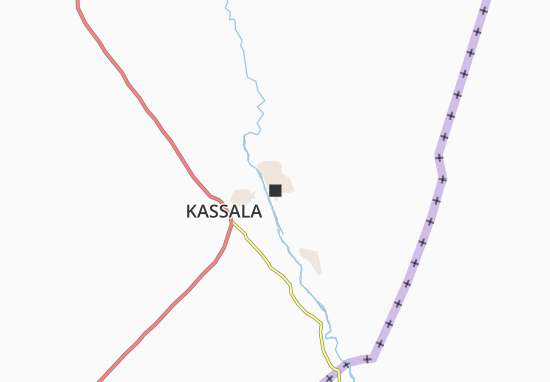 Carte-Plan Kassala