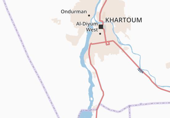 Carte-Plan Tureyad-el-Masid