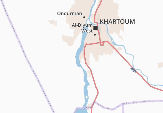 Carte-Plan Abu-Doma
