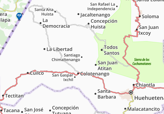 Mappe-Piantine Santiago Chimaltenango