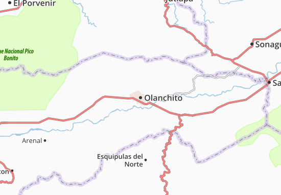 Mapas-Planos Olanchito