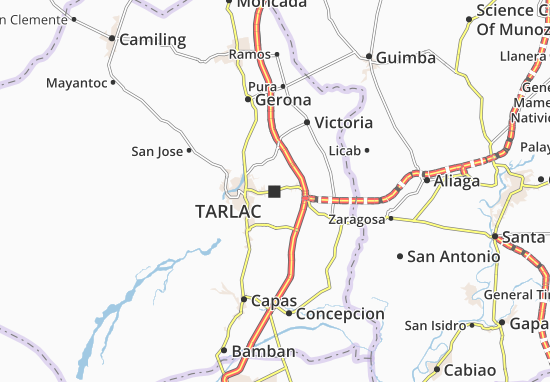 Mappe-Piantine Tarlac