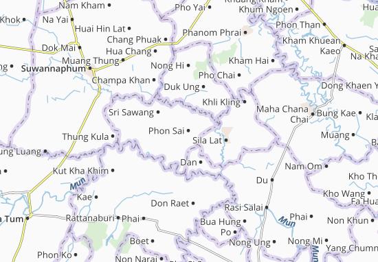 Carte-Plan Phon Sai