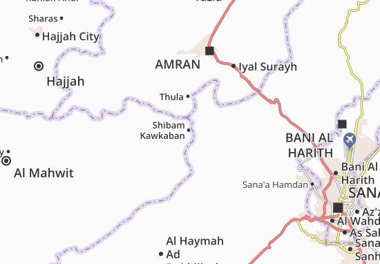 Mapas-Planos Shibam Kawkaban
