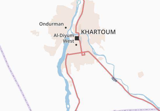Carte-Plan Al-Hilla Al-Jadida