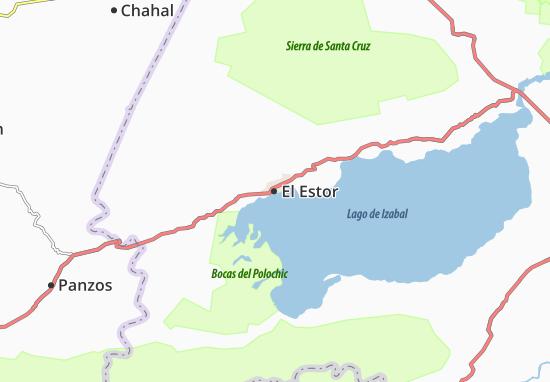 Mapa Plano El Estor