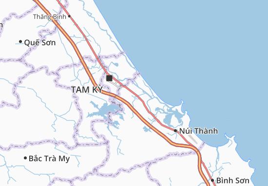 Carte-Plan Tam Xuân 2