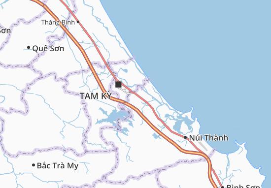 Mapas-Planos Tam Xuân 1