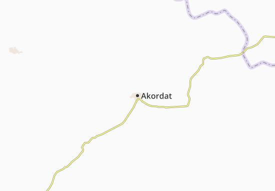 Akordat Map