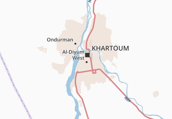 Al-Sajjana Map
