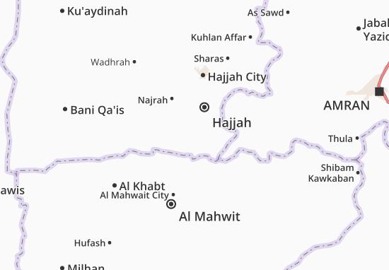 Bani Al Awam Map
