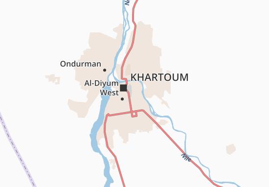 Carte-Plan Al-Riyad