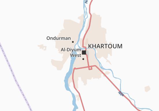 Mapas-Planos Khartoum Light Industrial Area