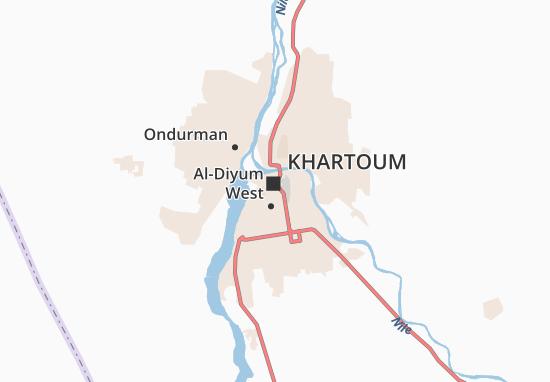 Mapa Plano Khartoum II