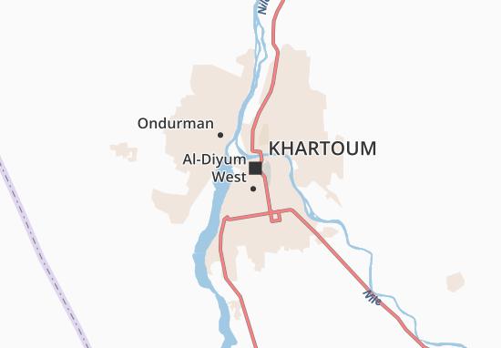 Mapa Plano Khartoum III