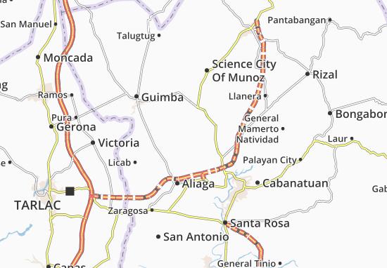 Mappe-Piantine Santo Domingo