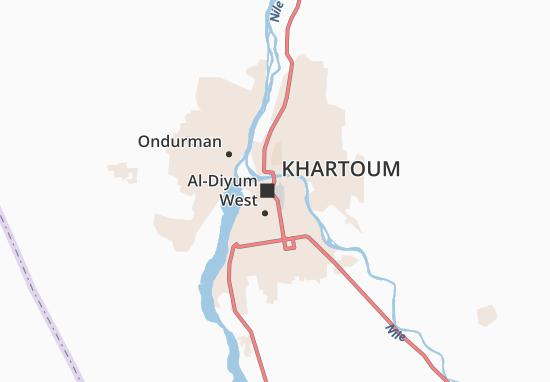 Mapa Plano Hay Al-Matar