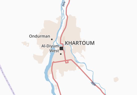 Carte-Plan Al-Manshiyya