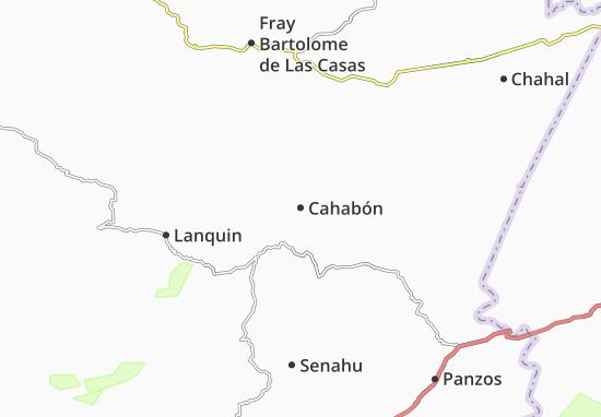 Carte-Plan Cahabón