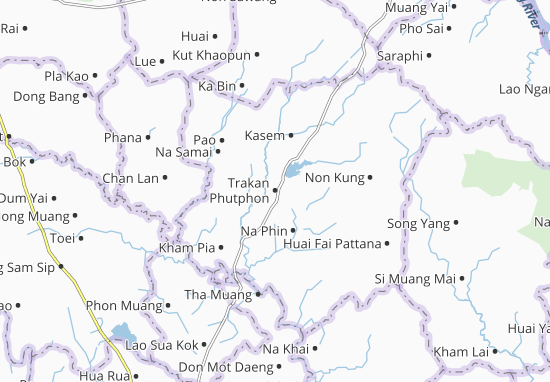 Trakan Phutphon Map