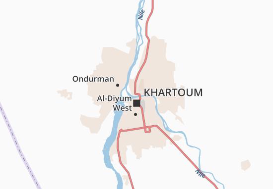 Mapa Plano Al-Amlak