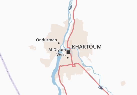 Mappe-Piantine Khartoum North