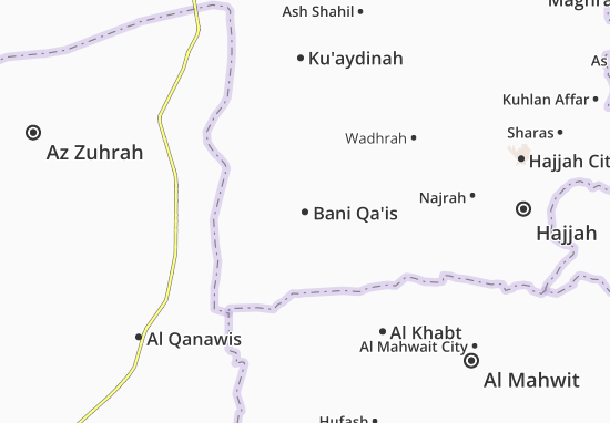 Mappe-Piantine Bani Qa'is