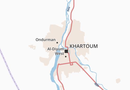 Mapa Plano Al-Danagla