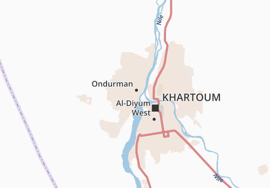 Carte-Plan Hay Al-Umara Gharib