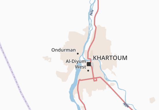 Carte-Plan Al-Mulazmin